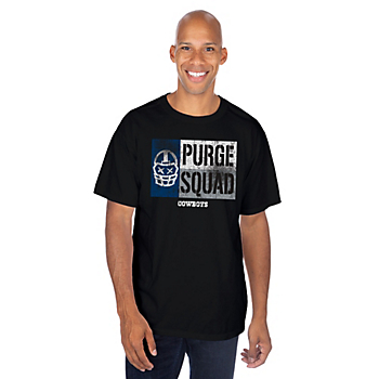 Dallas Cowboys Purge Squad Flag Short Sleeve T-Shirt