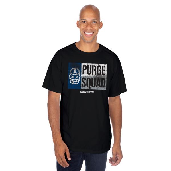 Dallas Cowboys Purge Squad Flag Short Sleeve T-Shirt