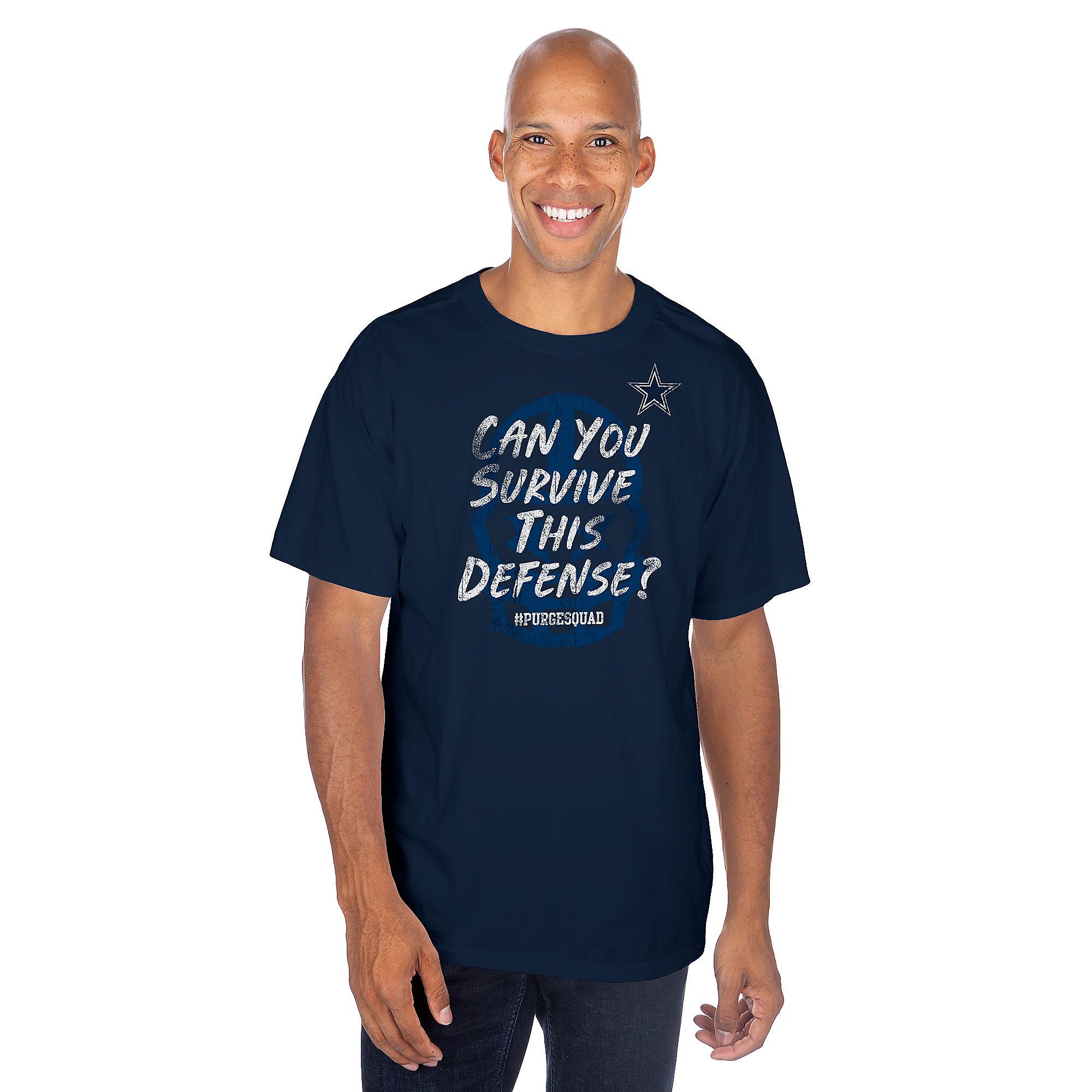 Dallas Cowboys Purge Squad Survive Short Sleeve T-Shirt