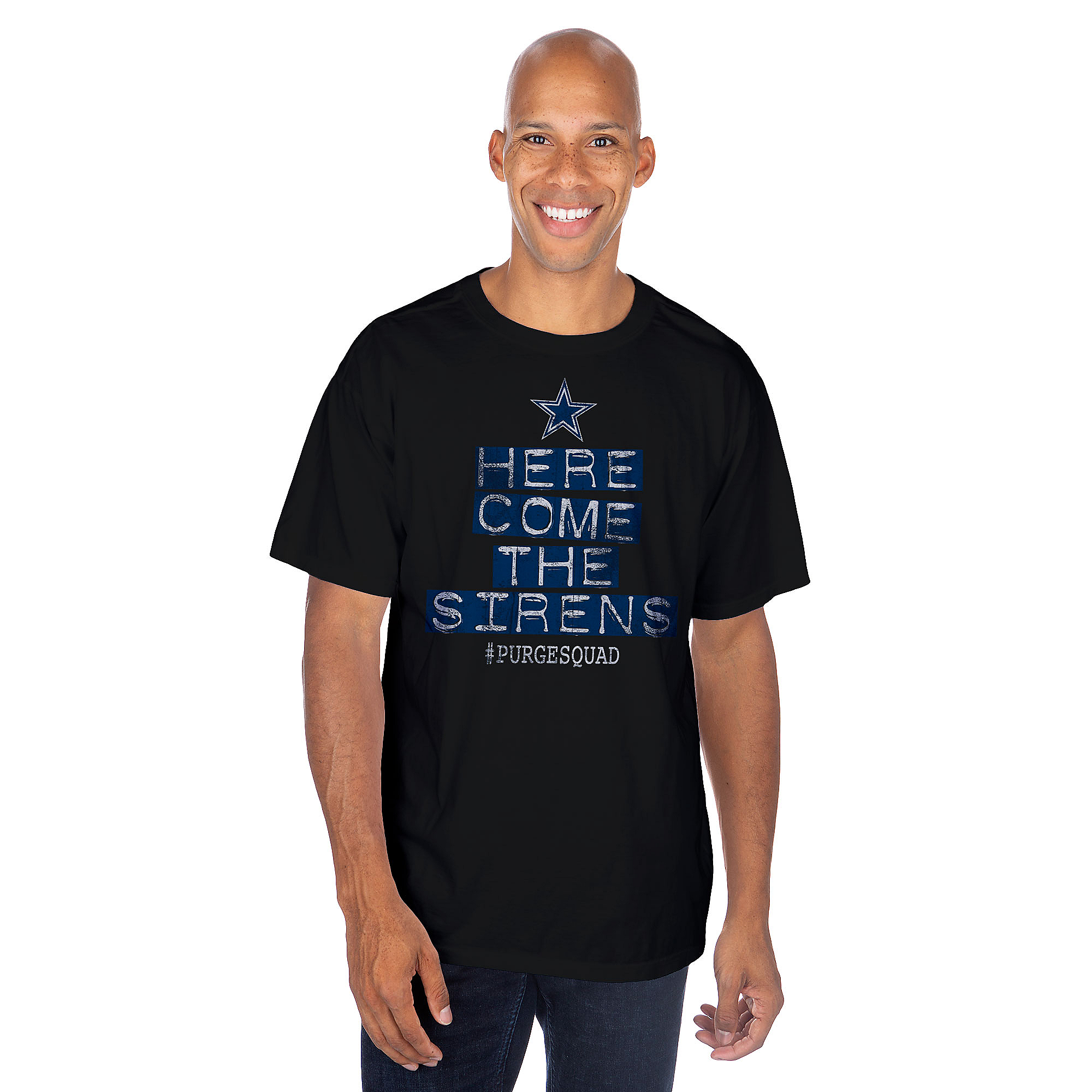 Dallas Cowboys Purge Squad Sirens Short Sleeve T-Shirt