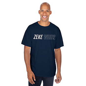 Dallas Cowboys Zeke Who™ Short Sleeve T-Shirt