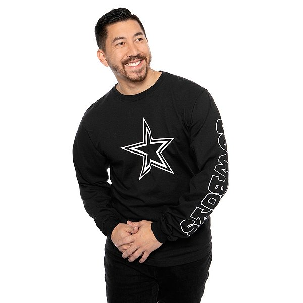 Dallas Cowboys Mens Schaefer Long Sleeve T-Shirt
