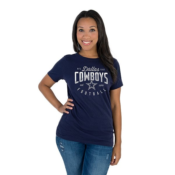 Dallas Cowboys Womens Lyric Short Sleeve T-Shirt