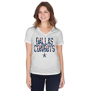 Dallas Cowboys Womens Manon Short Sleeve T-Shirt