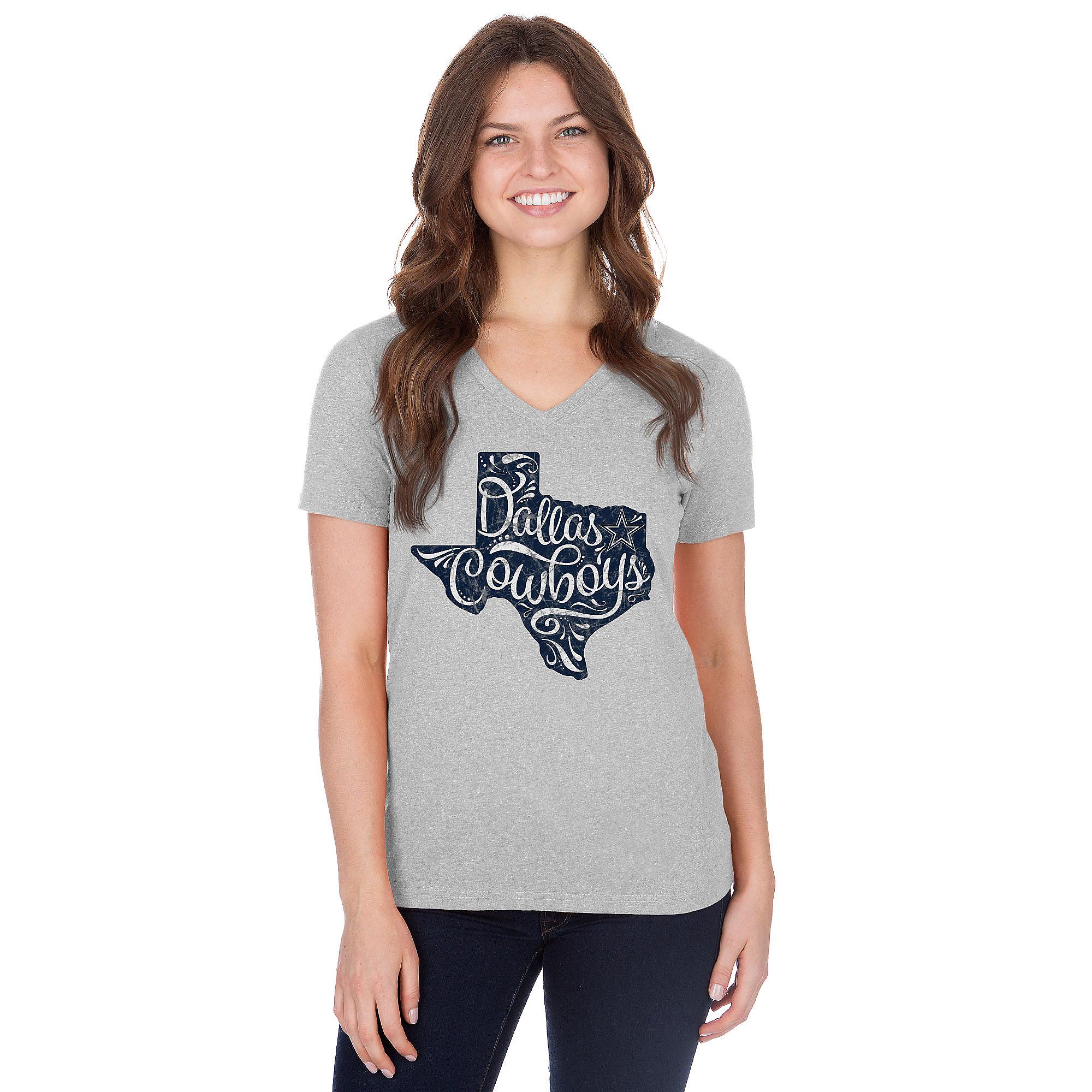 Dallas Cowboys Womens Jenara Short Sleeve T-Shirt