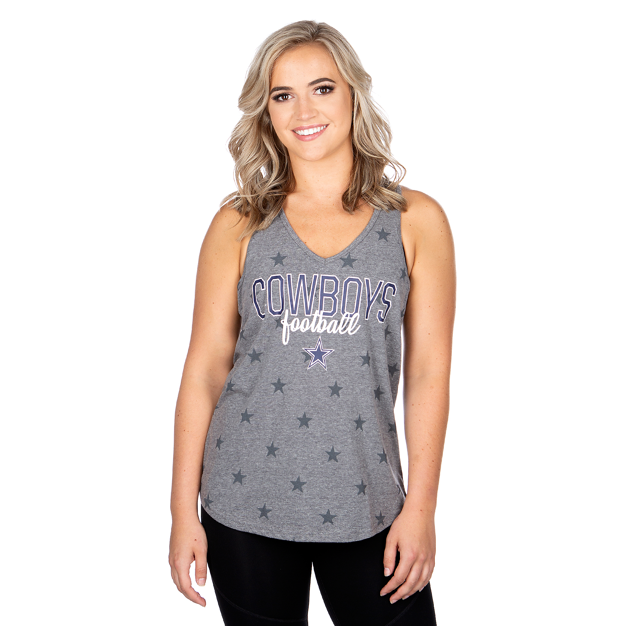 Dallas Cowboys Womens Hendrix Tank