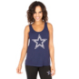 Dallas Cowboys Womens Teel Cutout Tank