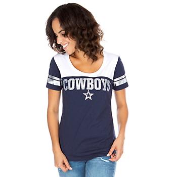 Dallas Cowboys Womens Candice Short Sleeve T-Shirt