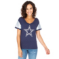 Dallas Cowboys Womens Cherry Short Sleeve T-Shirt
