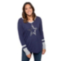 Dallas Cowboys Womens Geneva Long Sleeve T-Shirt