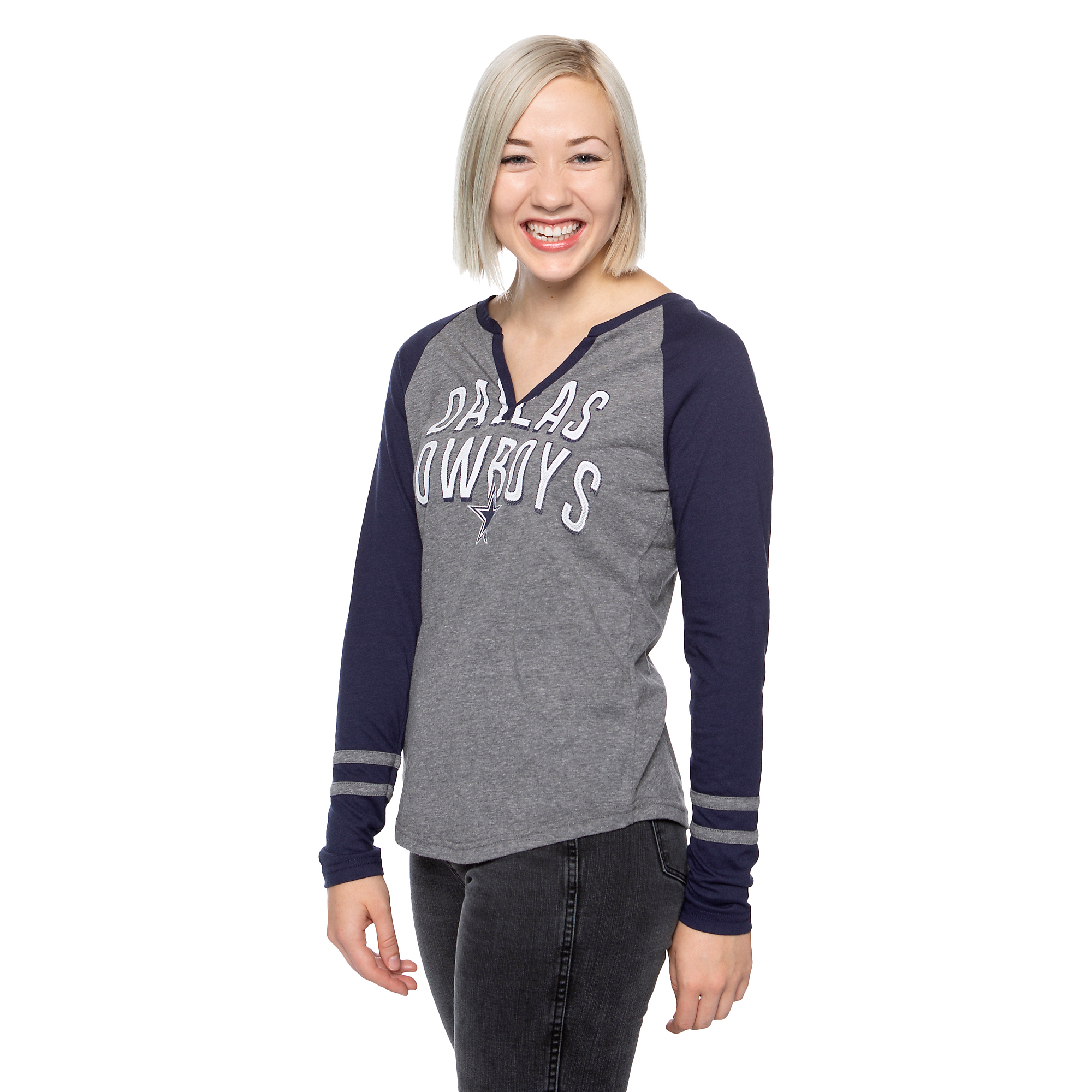 c381ae0f Dallas Cowboys Womens Diane Long Sleeve T-Shirt | Fans United