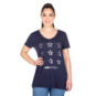 Dallas Cowboys Womens Dolores Short Sleeve T-Shirt