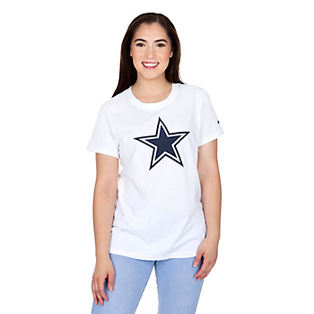 Dallas Cowboys Nike Womens Dri-FIT Cotton Primary Logo T-Shirt