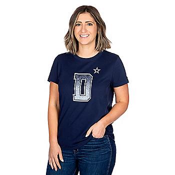 Dallas Cowboys Nike Womens Local Verbiage Short Sleeve T-Shirt