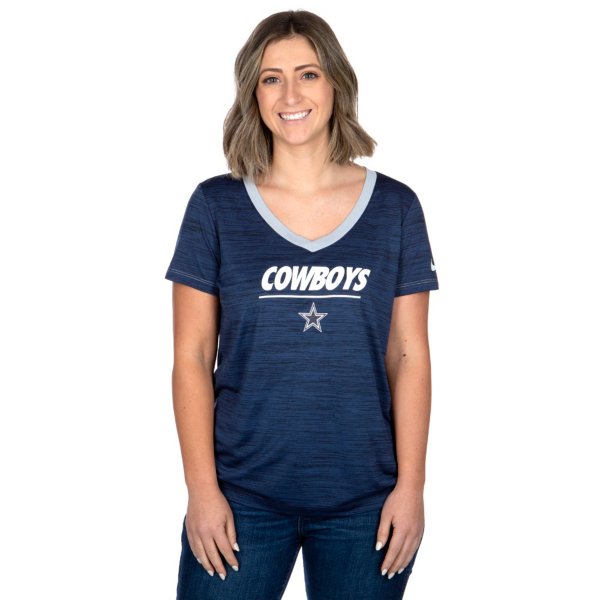 Dallas Cowboys Nike Womens Legend Velocity Short Sleeve T-Shirt