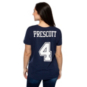 Dallas Cowboys Nike Womens Dak Prescott #4 Player Pride 3 T-Shirt