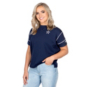 Dallas Cowboys Nike Womens Breathe Short Sleeve T-Shirt