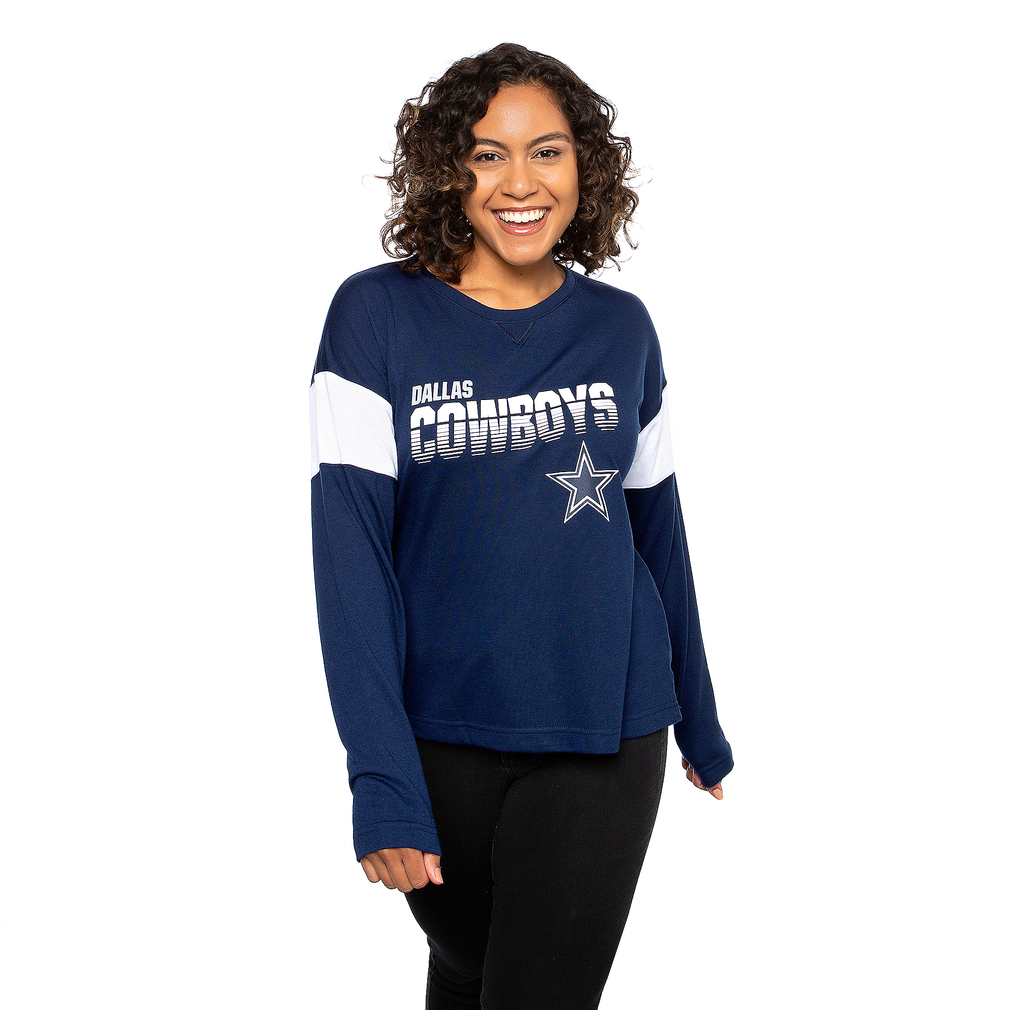 Dallas Cowboys Nike Womens Breathe Long Sleeve T-Shirt