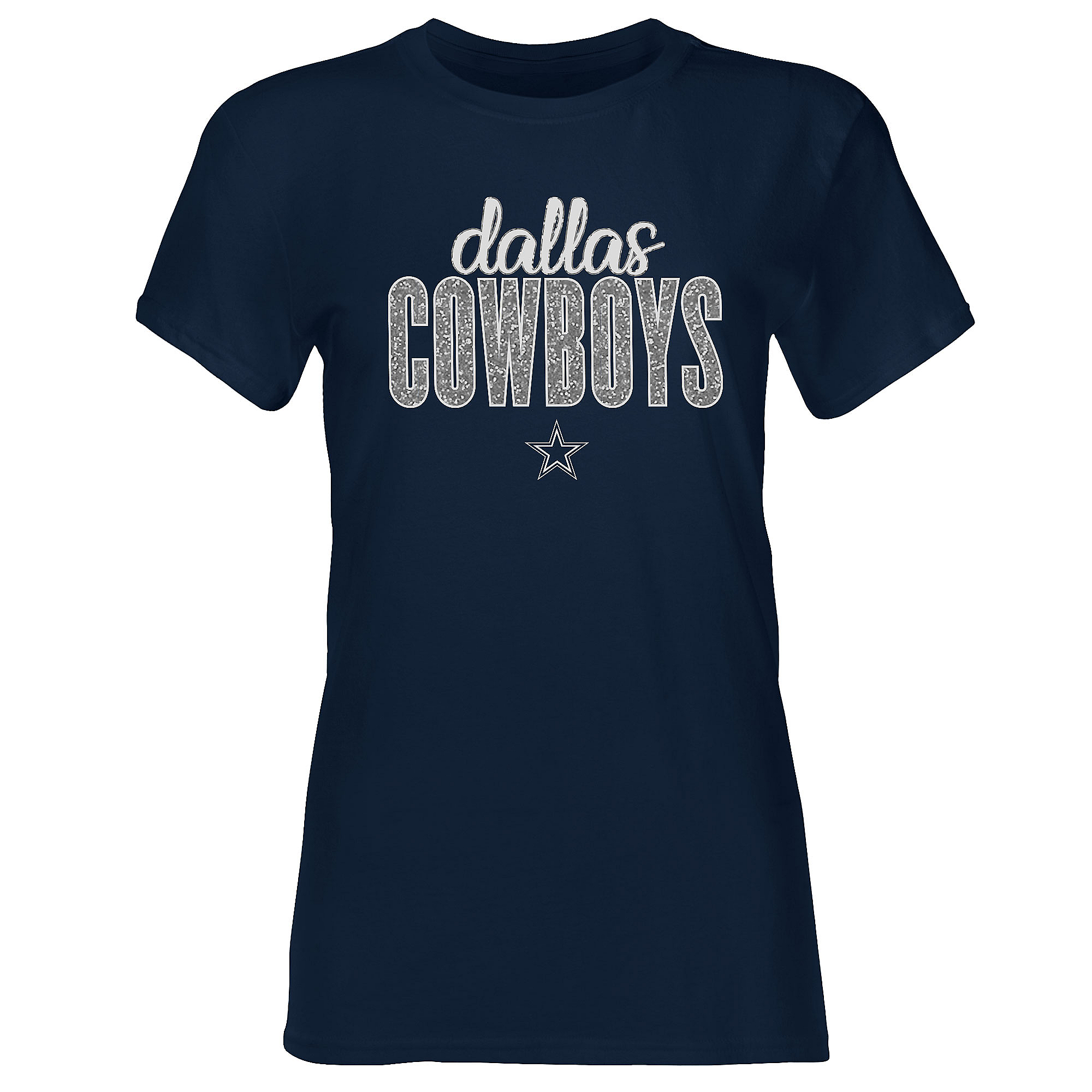 Dallas Cowboys Womens Winnie Short Sleeve T-Shirt