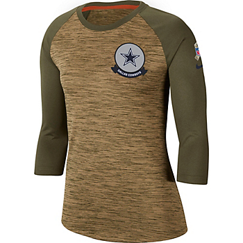 Dallas Cowboys Nike Salute to Service Womens Legend T-Shirt