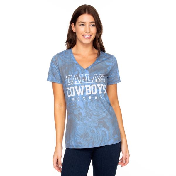 Dallas Cowboys Womens Practice Millie Short Sleeve T-Shirt