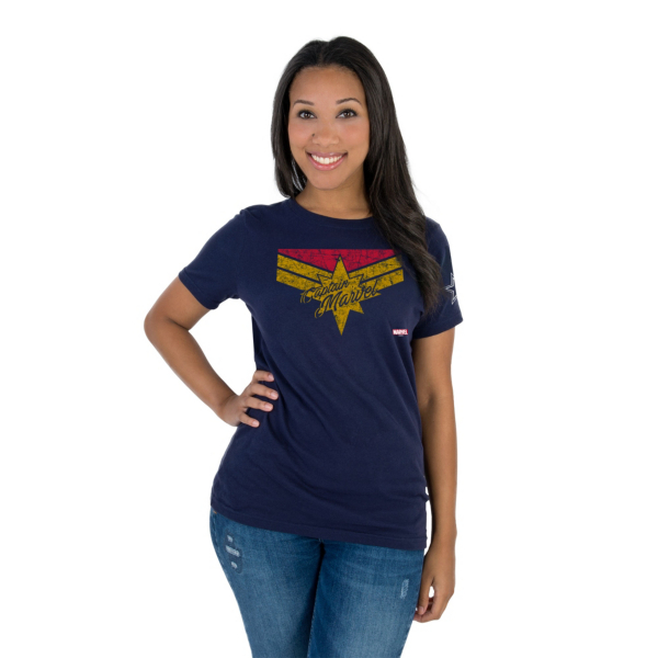 Dallas Cowboys MARVEL Womens Captain Marvel Danvers T-Shirt