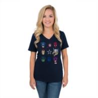 Dallas Cowboys MARVEL Womens All Star Cast T-Shirt