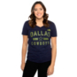 Dallas Cowboys Womens Batallion HQ Short Sleeve T-Shirt
