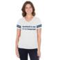 Dallas Cowboys Studio Love Language Short Sleeve T-Shirt