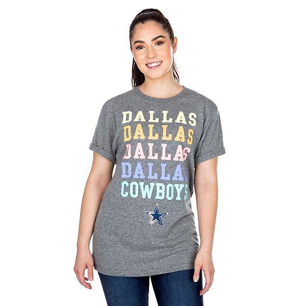 Dallas Cowboys Studio Dallas X4 Short Sleeve T-Shirt