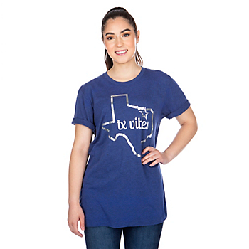 Dallas Cowboys Studio TX Vibes Short Sleeve T-Shirt