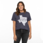 Dallas Cowboys Team LJ Womens Short Sleeve State Mayhem T-Shirt