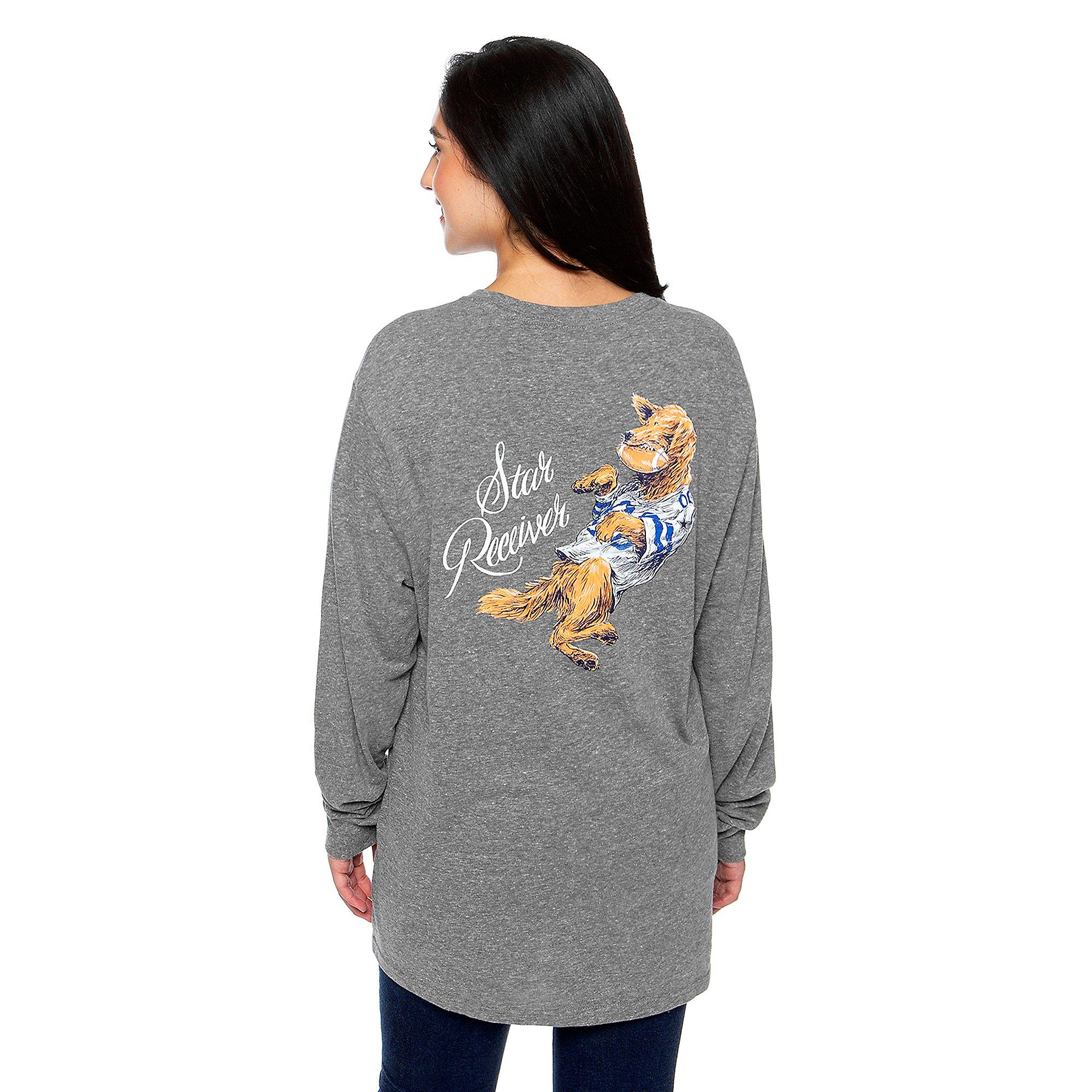 Dallas Cowboys Team LJ Womens Born Star Receiver T-Shirt