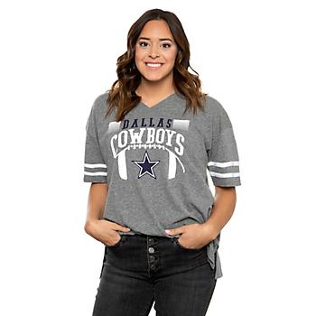 Dallas Cowboys Lauren James Womens Retro Jersey T-Shirt