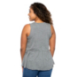 Dallas Cowboys Lauren James Womens Piper Peplum Tank
