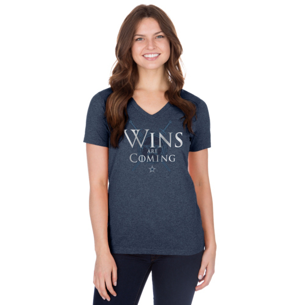 Dallas Cowboys Womens Wins Are Coming Short Sleeve T-Shirt