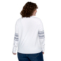 Dallas Cowboys WEAR By Erin Andrews Womens Long Sleeve Snap Cuff T-Shirt