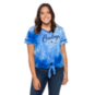 Dallas Cowboys Lauren James Womens Roller Girl T-Shirt