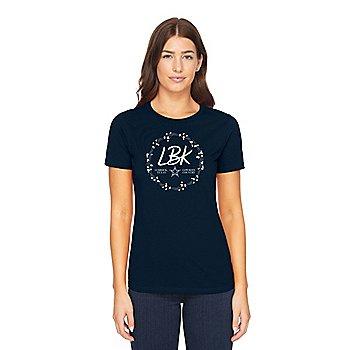 Dallas Cowboys Womens Lubbock Local Short Sleeve T-Shirt