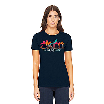 Dallas Cowboys Womens San Antonio Local Short Sleeve T-Shirt