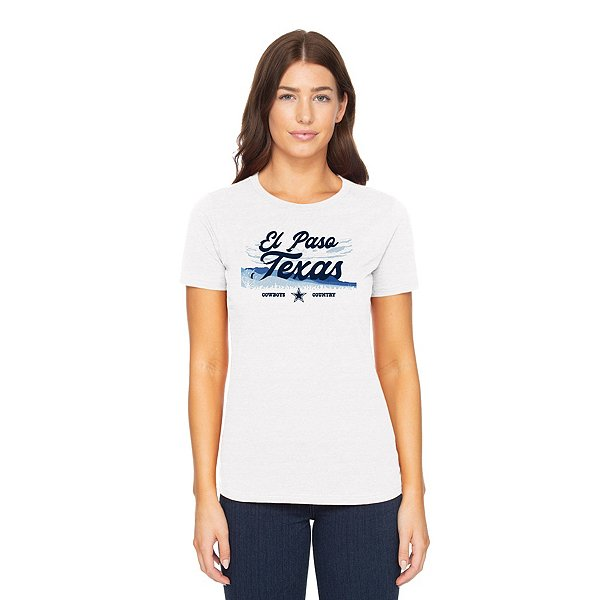 Dallas Cowboys Womens El Paso Local Short Sleeve T-Shirt