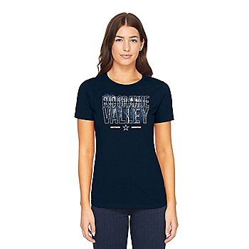 Dallas Cowboys Womens Rio Grande Valley Local Short Sleeve T-Shirt