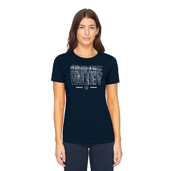 Dallas Cowboys Womens Rio Grande Valley Local Short Sleeve T-Shirt