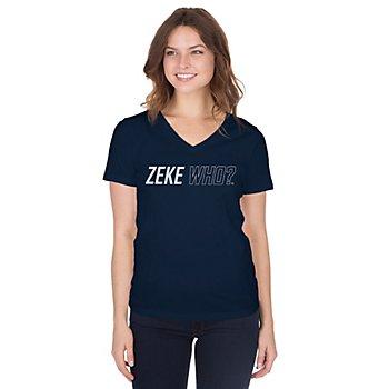 Dallas Cowboys Womens Zeke Who™ Short Sleeve T-Shirt