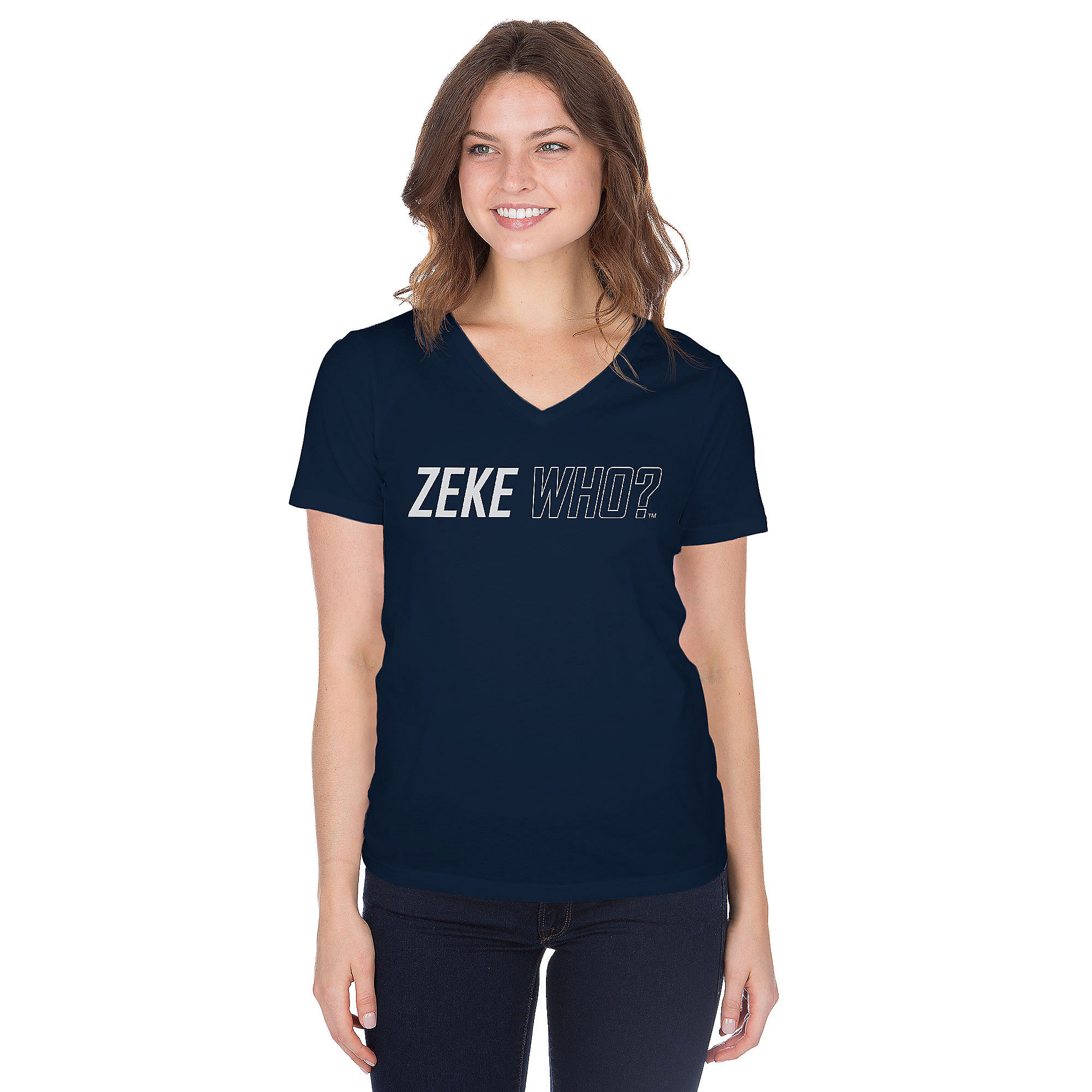 Dallas Cowboys Womens Zeke Who™ Short Sleeve T-Shirt