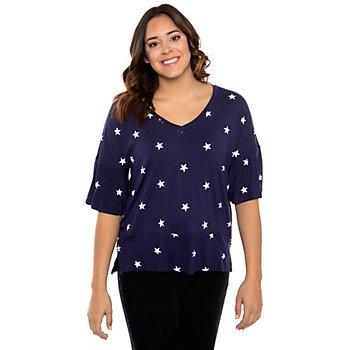 Dear John Samantha Star Print Shirt