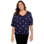 Studio Dear John Samantha Star Print Shirt