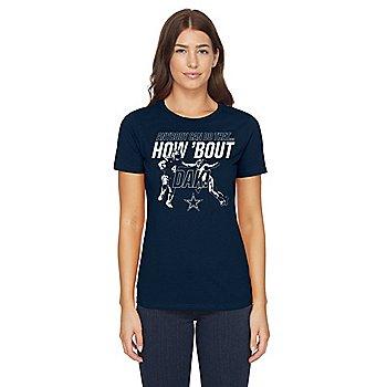 Dallas Cowboys Womens How Bout Dak Short Sleeve T-Shirt