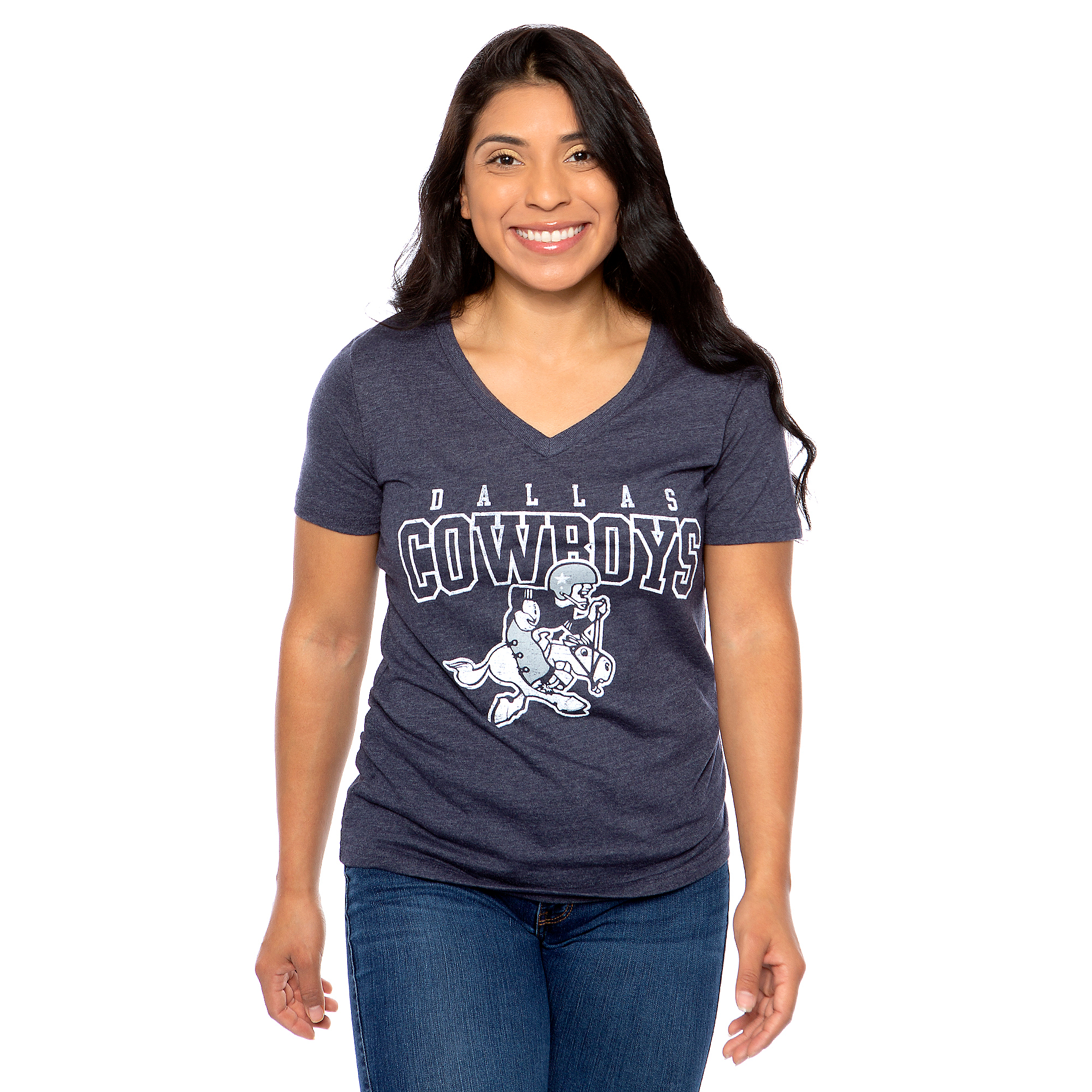 Dallas Cowboys Womens Roth Triblend T-Shirt