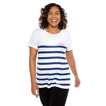 Chaser Love Stripe Everybody Shirt